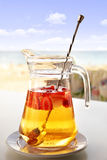 Champagne Sangria Royalty Free Stock Photography