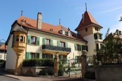 Champagne Schweiz Royaltyfria Bilder