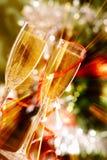 Champagne scintillante Fotografia Stock Libera da Diritti