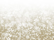Champagne Sparkle Abstract Bokeh Stock Photos