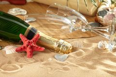 Champagne sparkling Royalty Free Stock Photography