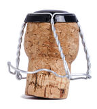 Isolated Champagne Cork Royalty Free Stock Photos