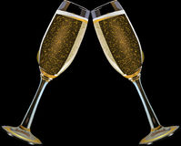 Champagne Stemware, Stemware, Champagne, Drink royalty free stock images