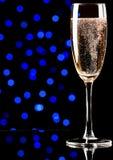 Champagne su priorità bassa astratta Immagine Stock