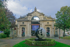 Champagne Theater and Rachi Memorial, in Troyes Stock Photos