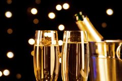 Champagne theme Royalty Free Stock Photo