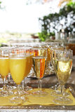 Champagne to drink a toast Royalty Free Stock Photo