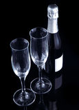 Champagne toast. Royalty Free Stock Photography