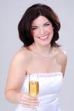 Champagne-Toast Stockbilder