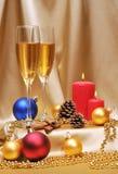 Champagne toast Stock Photo