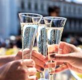Champagne Toast Stockbilder