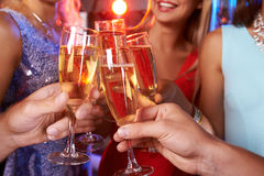 Champagne toast Royalty Free Stock Photos