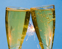 Champagne Toast Royalty Free Stock Images