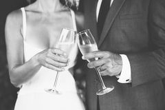 Champagne Toast Royalty Free Stock Image