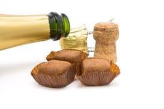 Champagne Truffles Stock Image