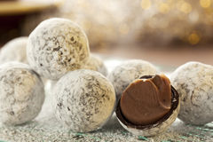 Champagne Truffles stock images