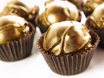 Champagne truffles Royalty Free Stock Photos