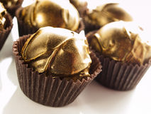 Champagne truffles Royalty Free Stock Photo
