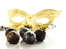 Champagne truffles Royalty Free Stock Photography