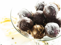 Champagne truffles Royalty Free Stock Image