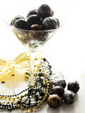 Champagne truffles Stock Photography