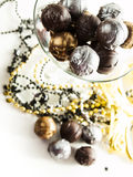 Champagne truffles Stock Photo