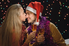 Champagne for two Royalty Free Stock Image