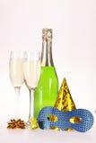 Champagne und Party Lizenzfreies Stockfoto