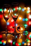 Champagne variopinta Fotografia Stock