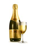 Champagne vector illustration Stock Photography