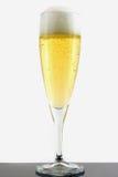 Champagne in vetro Fotografia Stock