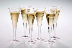 Champagne voor iedereen Stock Afbeelding