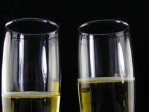 Champagne voor twee Royalty-vrije Stock Afbeelding