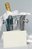 Champagne-Wanne stockbilder