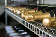 Champagne wine Royalty Free Stock Photos