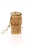 Champagne wine bottle corks Stock Photo