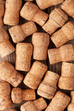 Champagne wine corks texture Royalty Free Stock Photography