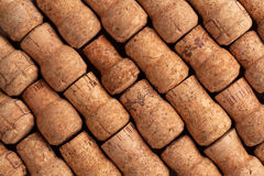 Champagne wine corks texture royalty free stock images