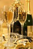champagnedeltagare royaltyfri fotografi