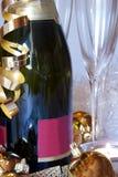 champagnedeltagare royaltyfria foton