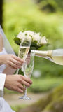 champagnedroppe Royaltyfria Bilder