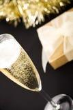 champagneexponeringsglas Royaltyfri Fotografi