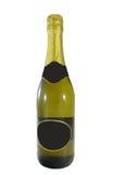 Champagneflaska Arkivbild