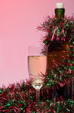 champagnejul Royaltyfria Bilder