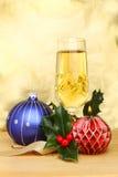 champagnejul Arkivbilder