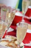 Champagneparti Arkivfoton