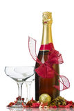 Champagner 2013 des neuen Jahres Lizenzfreies Stockfoto