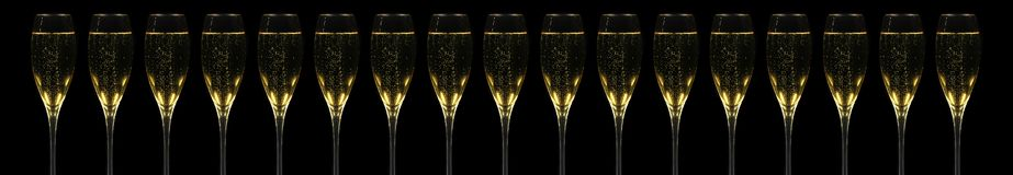 Champagner Flutes Royalty Free Stock Photo