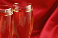 champagneromantiker Royaltyfria Bilder