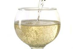 champagneserving Royaltyfri Fotografi